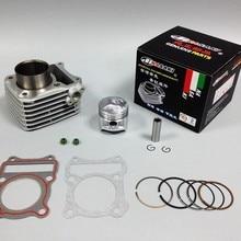 nasaki бренд цилиндр комплект и поршневые набор для SUZUKI GN125 DR125 GZ125 GN GZ GS 125 Cylindre