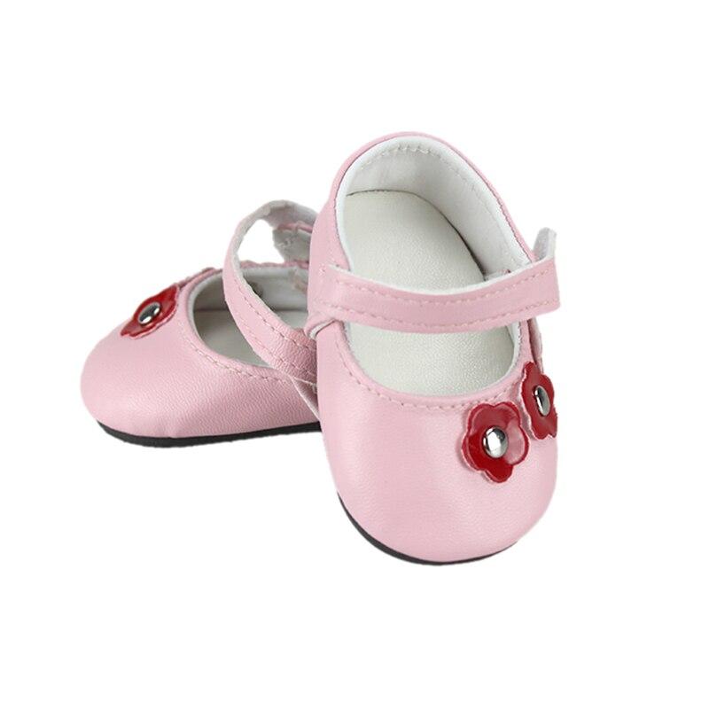 Nouvelles chaussures pour poupées de 43 cm accessoires de poupées de 17 pouces