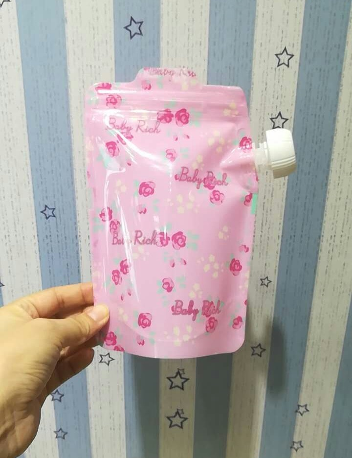 Pouches 5pc/lot Hot Sale BPA Free Baby Easy Food Jelly Feeding Bag For Fruit Pulp Pouch Feeding Bag Wholesale For Distributor