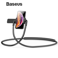 Baseus Mobile Phone Stand for iPhone iPad Xiaomi Tablet Flexible Lazy Neck Phone Holder Cell Phone Desk Mount Holder Bracket Mobile Phone Holders & Stands