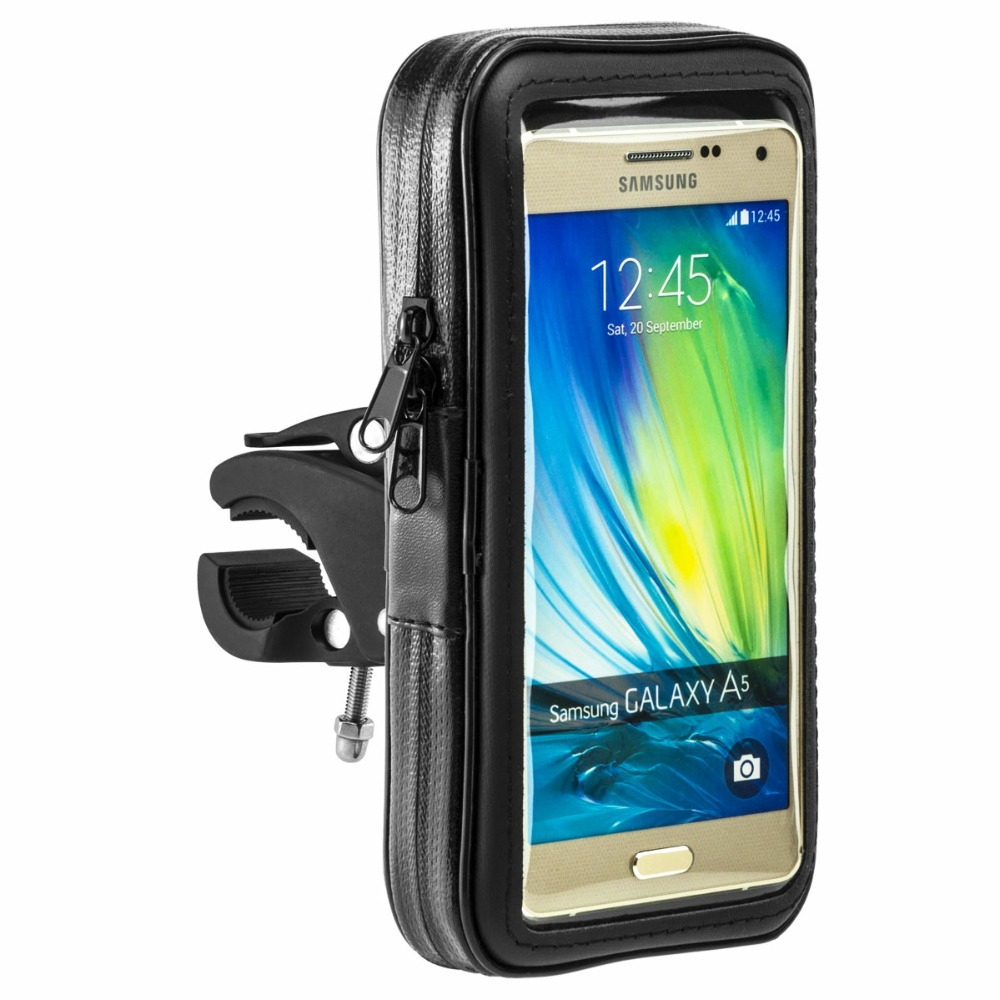 hight resolution of 360 rotary bike motor holder waterproof case for samsung galaxy a7 a700 bicycle motorcycle mount zipper sport pouch free ship in mobile phone holders