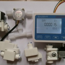 Switch Controller Flow-Sensor PURE-WATER-FILTER Display Solenoid-Valve TDS NEW