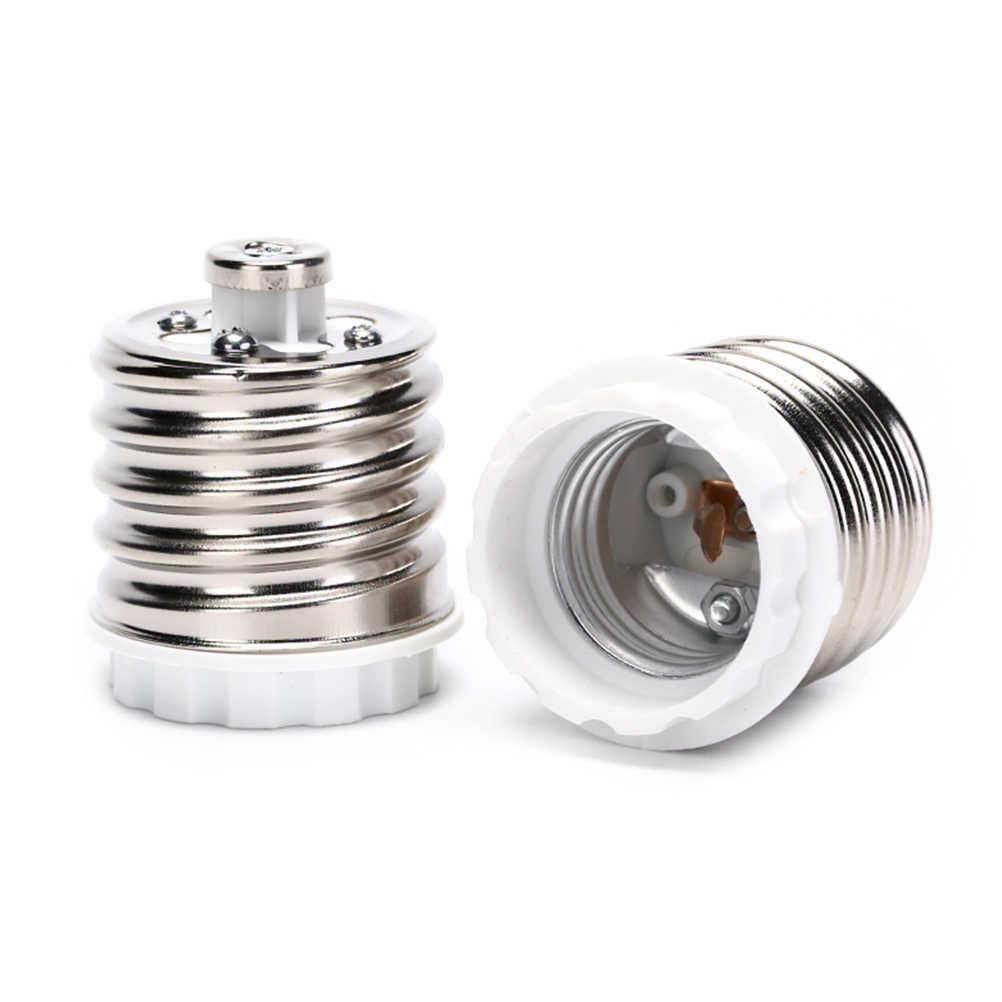Lamp Holder E40 to E27 Adapter LED Bulb Adapter Lamp Bulbs Base LED Light Bulbs Socket Adapter Bulb Converter E27 E40