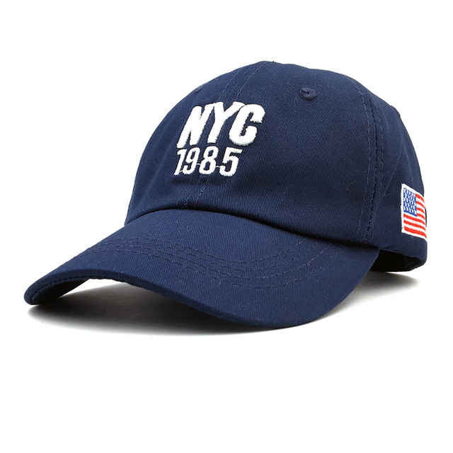 New Style NYC 1985 Hat Make America Great Again Hats Women Caps Brand Flag  Caps USA 13feaaf0518