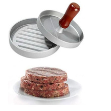 Antihaft-aluminium Hamburger Presse Fleisch Patty Form Burger Presse Maker Größe 12 cm/4,8 inch