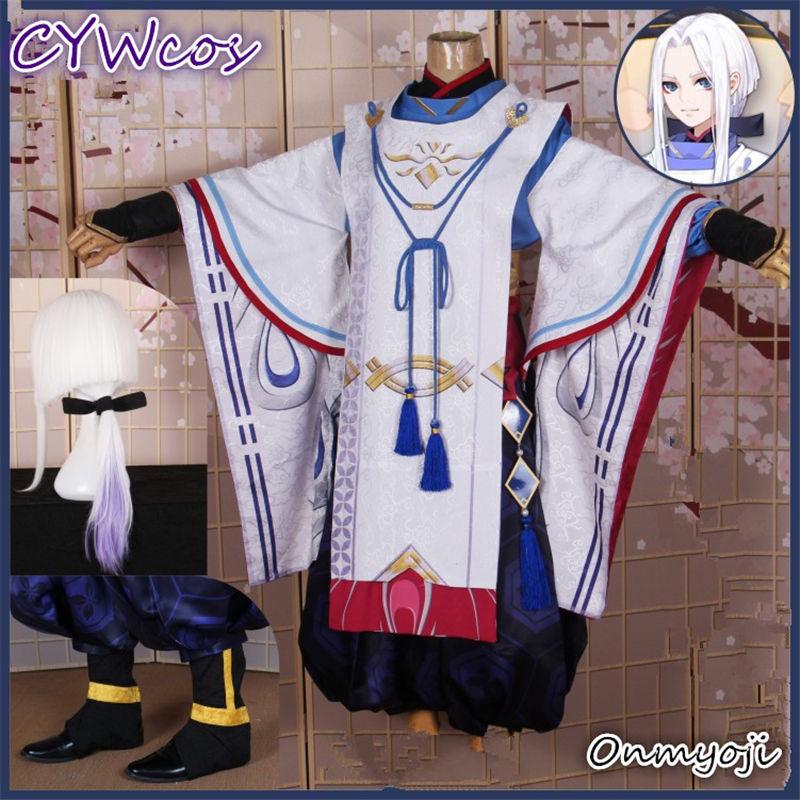 Buy Hot Onmyoji Youngster Covenant Abe Makiaki Cosplay Costume Christmas Uniforms Sets Male Outfits  Japanese Kimono for only 35.95 USD
