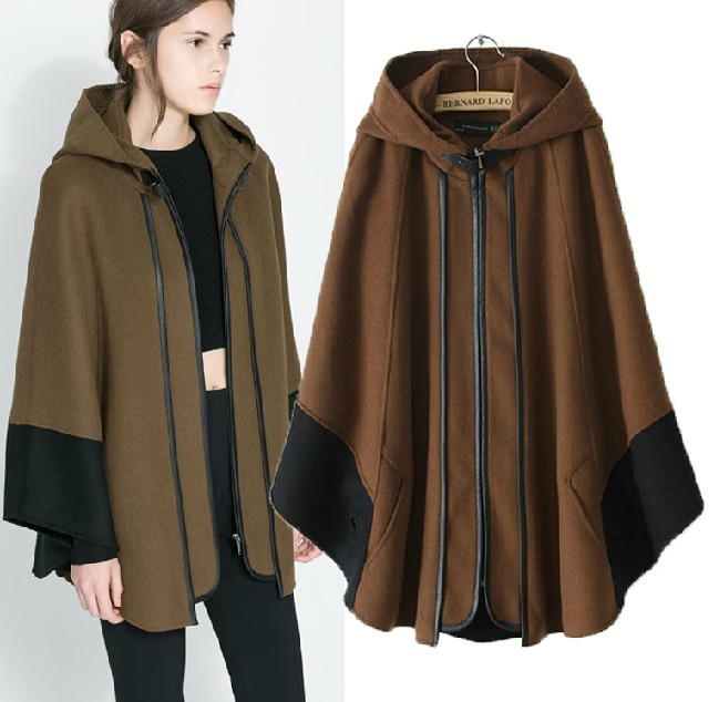 Cape Coats with Sleeves