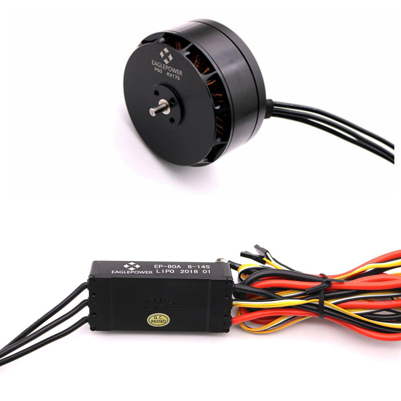 1 Set  Agriculture Drone P60 12S Power Suit P60 KV175 Brushless Motor +EP-80A ESC