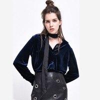 Autumn Spring Women S Fashion Bottoming Shirt Velvet Long Sleeve OL Style Women Blouses Tops Clothing