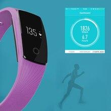Горячая Bluetooth SmartWatch Пульс монитор сердечного ритма сердечной умный Браслет SmartBand