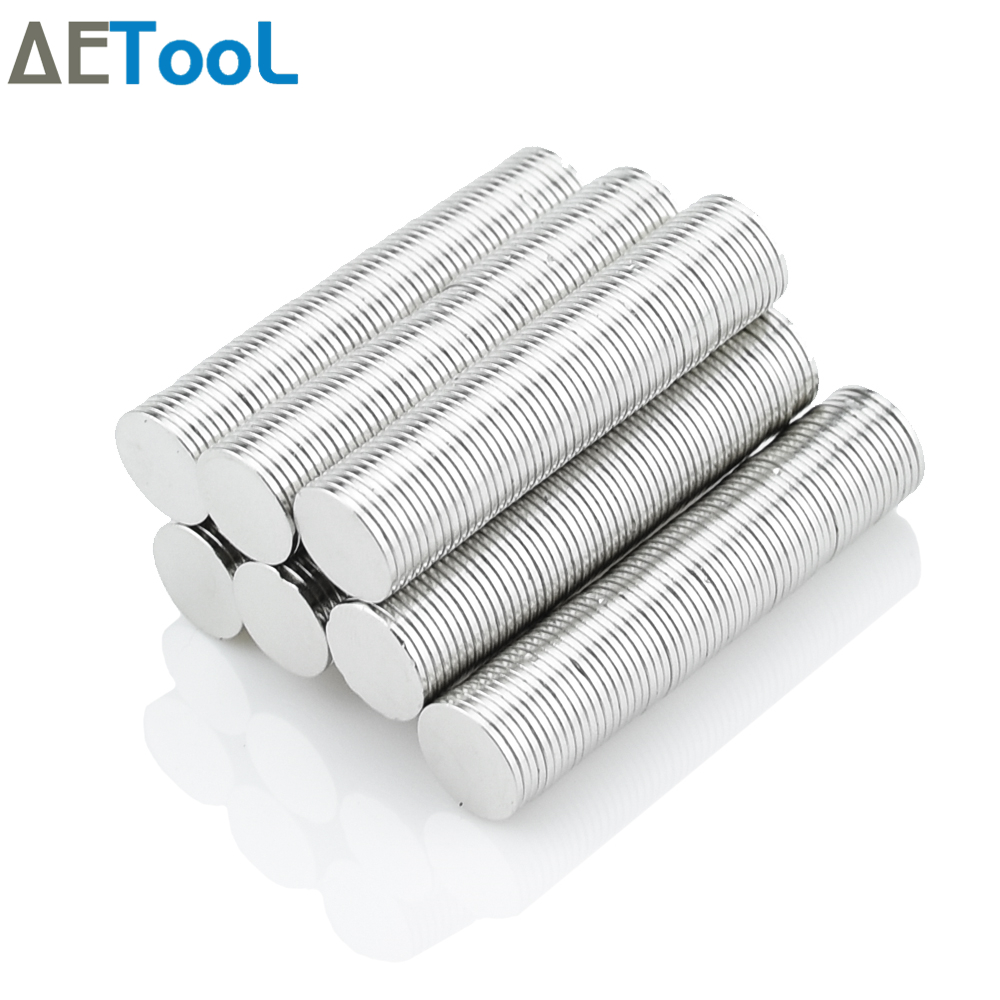 AETool 10Pcs Mini N52 Magnet 3x1 5x3 8x2 10x1 10x2 12x1 12x2 15x1 Mm Neodymium Magnet NdFeB Super Strong Powerful  Magnets