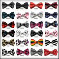 New 2017 fahion Male formal commercial bow tie the groom married double layer bowties ties for men women butterfly