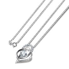 Kaletine Valentine Gift Love Heart Pendant