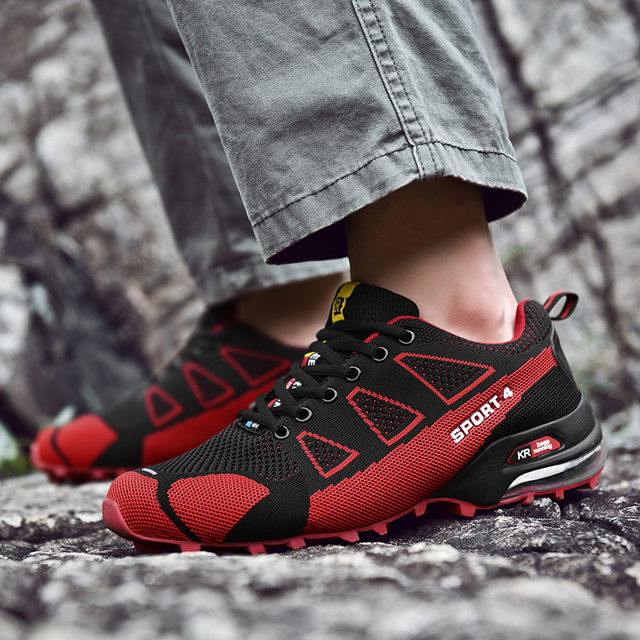 Running Shoes for Men Trail Shoes Sport Men Sneakers Jogging Shoes Tennis Speed 3 Cross Athletic