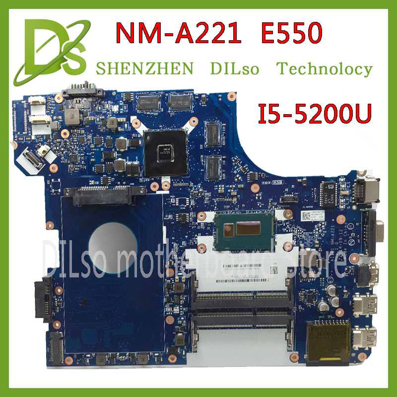 Original FÜr Ibm FÜr Lenovo Thinkpad E550 Motherboard Mit I3-4005u Cpu Nm-a221 00ht584 Vollständig Getestet Laptop Zubehör Laptop Motherboard