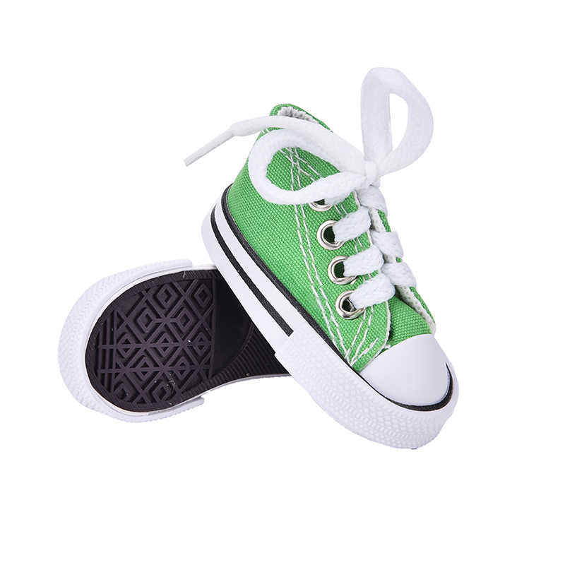 1 par Sapatos de Lona Denim Sapatos Para BJD Boneca de Brinquedo Mini Boneca para Sharon Sneackers Botas Boneca Bonecas Acessórios Hot venda 7.5 centímetros