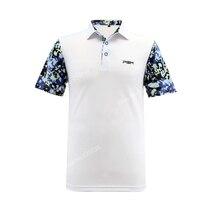 2017 Nieuwe collectie mannen golf t-shirts sport kleding golf apparel zomer sneldrogende paragraaf korte mouwen sport t-shirt 3 kleuren