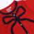 2016 primavera e outono meninas camisolas padrão crianças algodão e roupas de lã crianças menina dos desenhos animados camisola meninas arco presente de natal