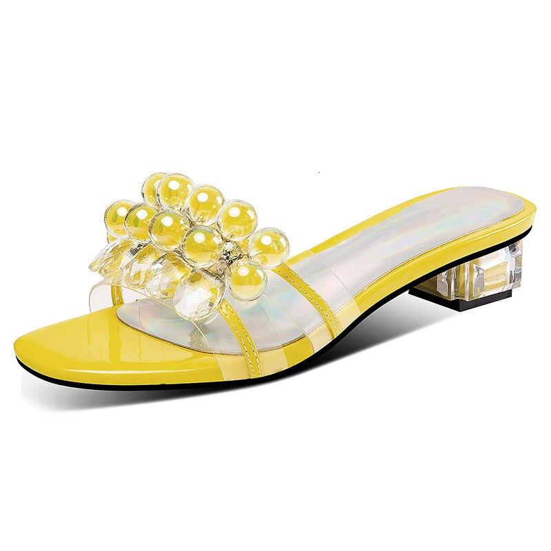 Casuales Sandalias Rojo Nuevo Estilo Mujeres Amarillo Plata Zapatos 8ONXwkn0P