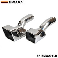 Chrome Stainless Steel Exhaust Muffler Tip For Land Rover 12 13 Range Rover diesel sports EP EM8093LR
