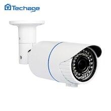 Techage H.265 4.0MP HD Sicherheit POE Ip kamera Indoor Outdoor IR Onvif P2P 2,8 12mm Vario zoomobjektiv CCTV Überwachungskamera