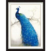 Diy 5d Diamond Painting Peacock Animals Mosaic Pattern Picture Diamond Embroidery Kits Of Rhinestones Crystals