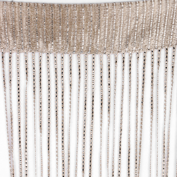 2 x 1 M String Curtains Crystal Beads Tassel Silk String Curtains Door Window Panel Sheer Curtains Valance For Living Room Decor