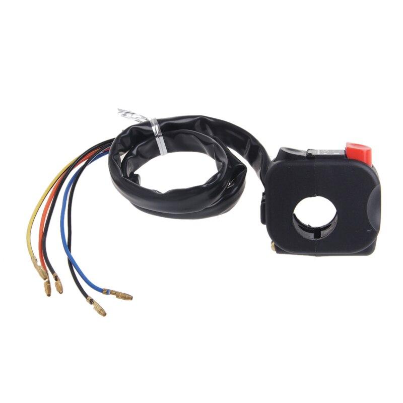 1PC 22mm Motorcycle Handlebar Power Horn Headlight Switch For BMW GS Honda Yamaha New