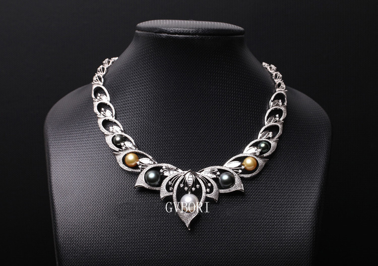 Aliexpress buy wedding supreme royal south sea pearl necklace aliexpress buy wedding supreme royal south sea pearl necklace inlaid with south african diamond fine jewelry valentine gifts big pearl necklace from aloadofball Gallery