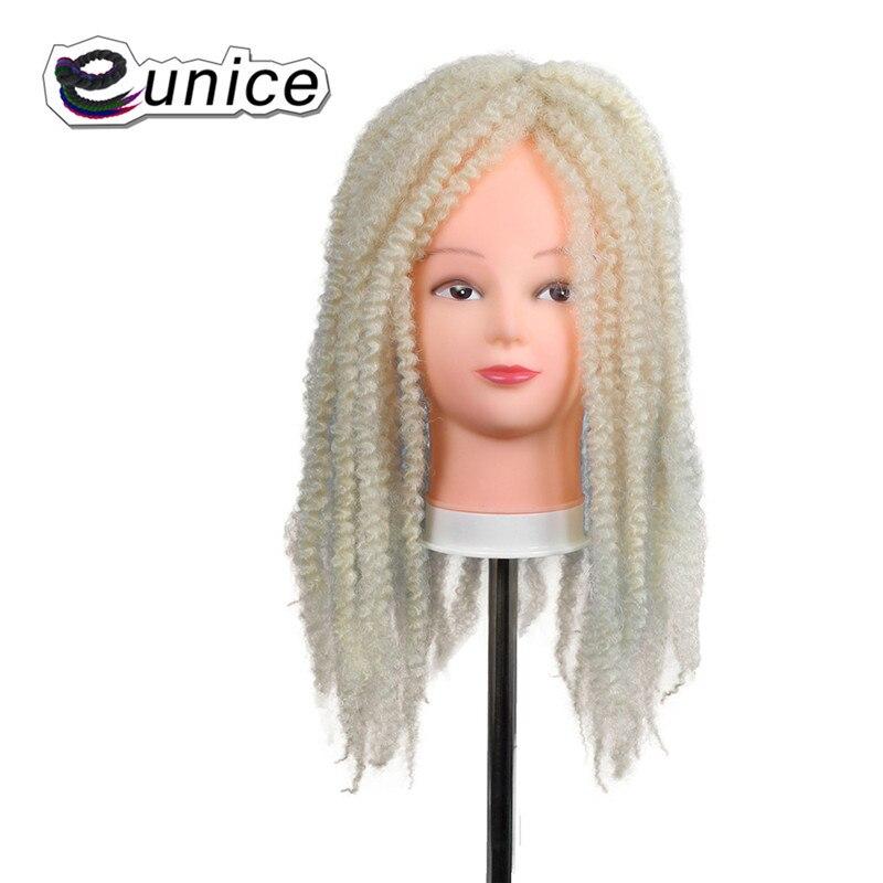 Marley Braids Hair Extension Synthetic Ombre Afro Kinky Crochet Kanekalon Braiding Hair (15)