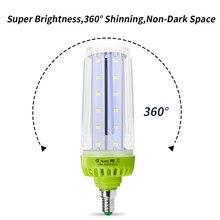 WENNI E27 LED Lamp E14 220V Corn Bulb 10W 15W High Power 20W Lampada Light 110V No Flicker Energy Saving 5736