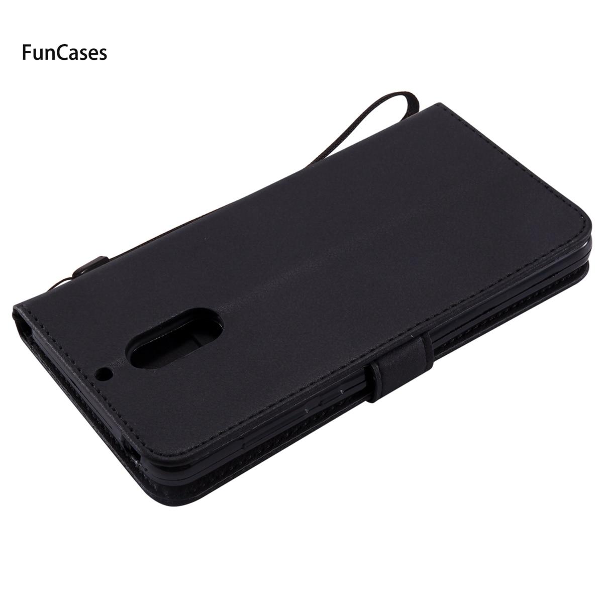 Pure Color Wallet Phone Case sFor Celular Nokia 6 Soft Silicone Back Cover Carcasa Unicorn Back Cover For Nokia 6 Telefonos Ajax