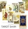2015 New Tarot Cards Plastic Protect Waterproof Copy Radiant Rider Waite Tarot Full English Tarot Mysterious