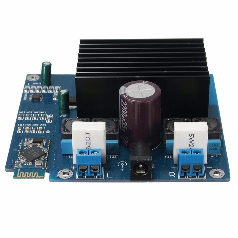 CSR4.0 Bluetooth Amplifier Board Class D 2-Channel 80W Replace Integrated Circuits 96X87mm Amplifier Boards Modules New Electric