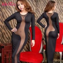Robe Limited New Korean Women Dresses Nightclub Ladies Halter The Temptation Tight Package Hip Dress Long