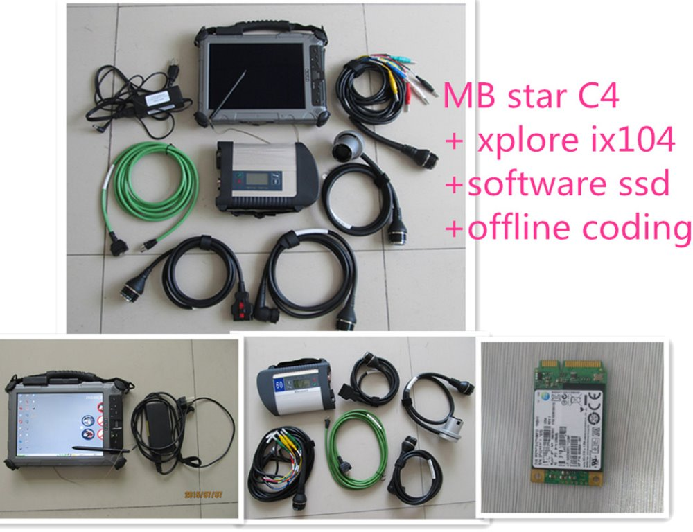 for Benz Sd connect c4 OBD2 Full Diagnostic Software v2017.09 Install On Car Diagnostic  ...