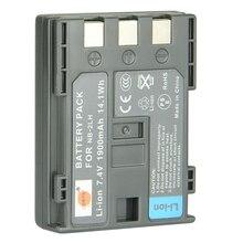 DSTE NB-2L NB-2LH Camera Battery for Canon 350D 400D ELURA 50 60 PowerShot G7 G9 S70 S80 350D 400D MV 800 800i 900 920