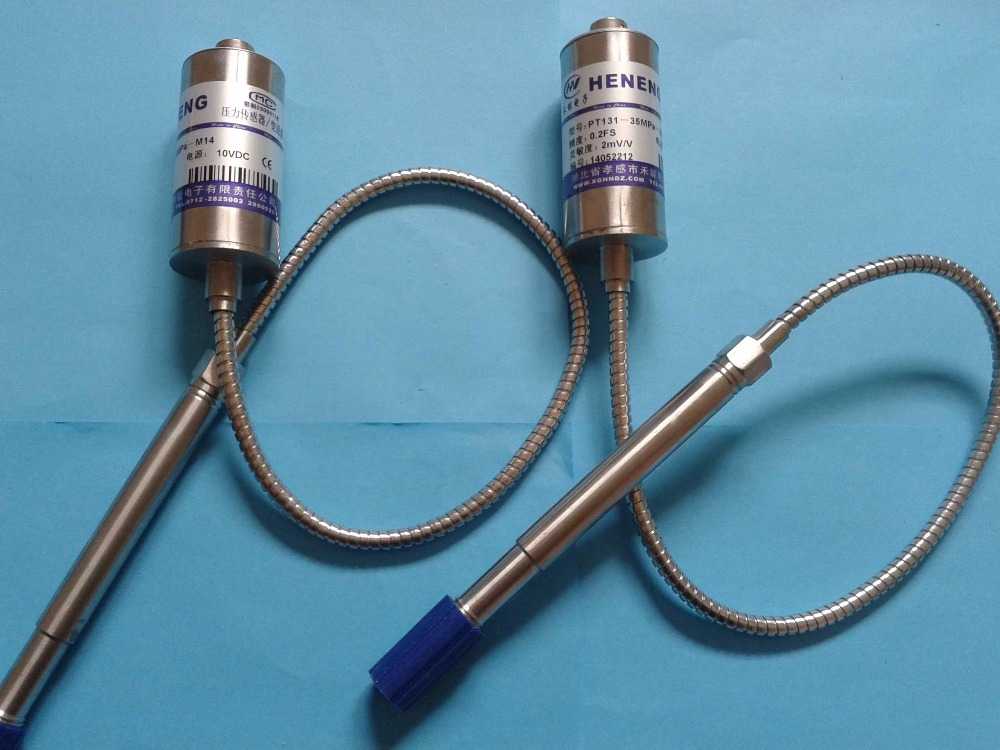 High Temperature Melt Pressure And Temperature Double Sensor PT131-50MPA-M14*1.5