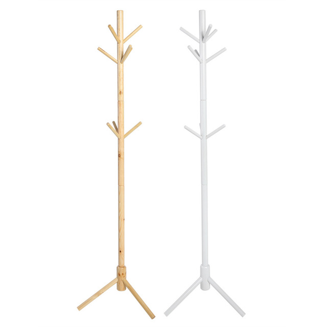stand with rack office shelf depot up holder and jacket umbrella hat tree wood coat racks wooden home bench entryway portable