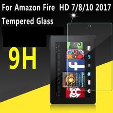 Прозрачное закаленное стекло для Amazon Fire HD 10 Защита экрана для Amazon Fire HD 8 чехол для Amazon Fire 7
