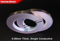 2 Roll 8mm Adhesive Copper Foil Tape Single Side Sticky Conductive Copper Foil Strip For EMI