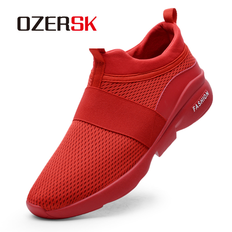 OZERSK 2020 New Fashion Classic Shoes Men Shoes Women Flyknit Comfortable Breathable Non-leather Casual Lightweight Shoes