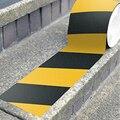 Нескользящая защитная лента  прочная клейкая защитная лента Предупреждение ющая лента из ПВХ  противоскользящие напольные наклейки для до...