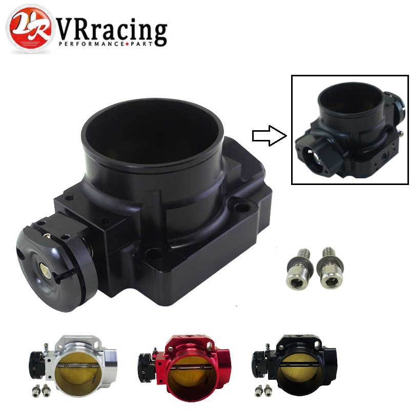 VR RACING THROTTLE BODY For 90 01 ACURA INTEGRA DA DB DC2 B16 B18C 70mm BILLET