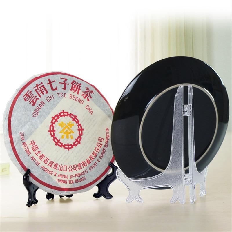 Clear Display Easel Stand Plate Bowl Picture Frame Photo Pedestal Holder EL
