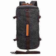 JMD High Quality Canvas Lady Travel Backpack Mens Daily School 9036