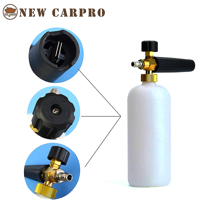 Carpro Car Wash Foam Gun High Pressure Washer Foamer Generator Water