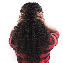 Kinky Curly Synthetic Hair Glueless Lace Front Wigs With Baby Hair Around Bleached Knots 20-30inch Free Shippment