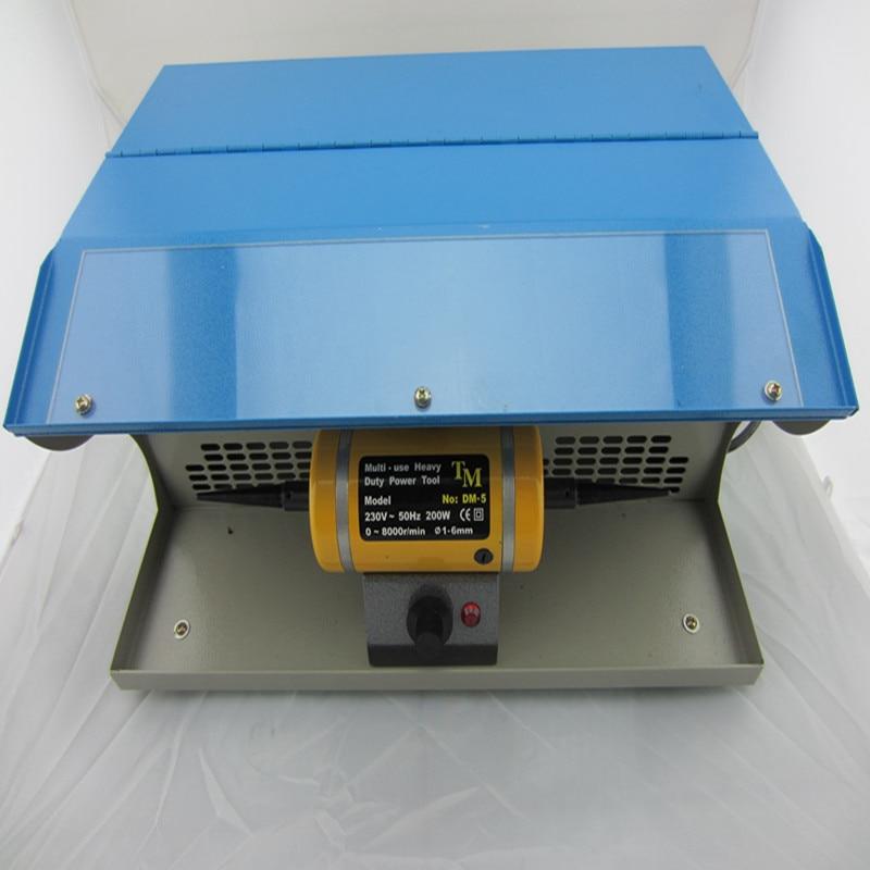 все цены на Dental Polishing Machine with Dust Collector Bench Lathe Motor Wholesale Buffing 2 pcs Buff or 2 pcs 78 mm Brush Free онлайн