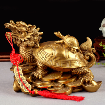 Feng Shui Turtles On Top Of A Dragon / feng shui dragon turtle